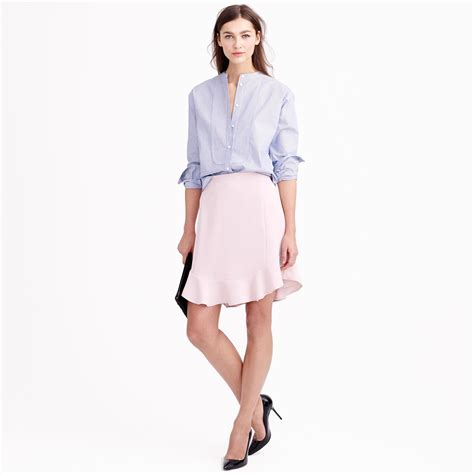 swinging skirts results swing skirt in drapey twill