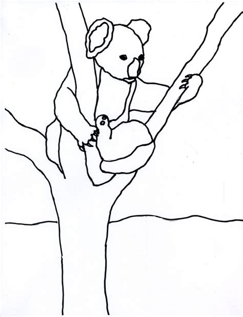 koala coloring pages printable free printable koala coloring pages for kids