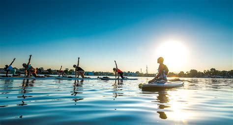 paddle board with sup