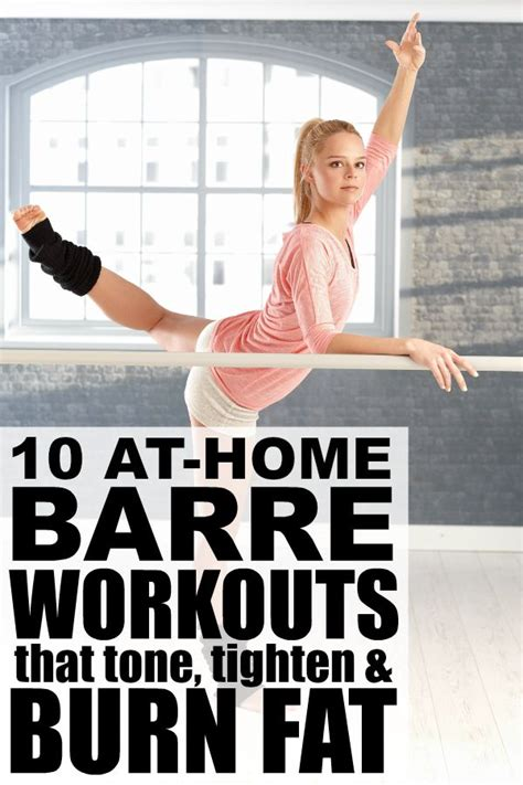 10 at home barre workouts that burn