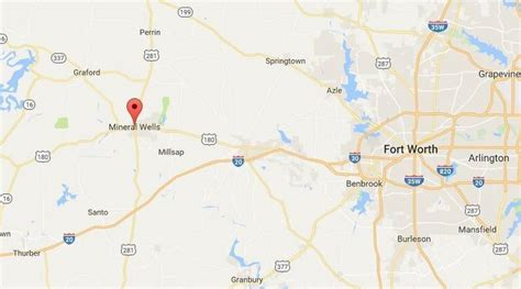 mineral texas map mineral providing water as outage repairs
