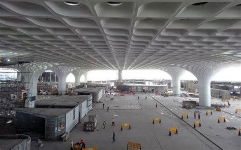 Ceiling Design mumbai t2 airport terminal 15 e architect