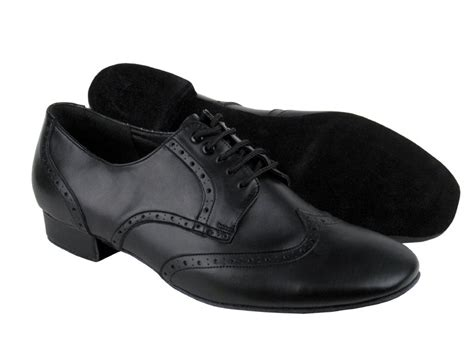 salsa shoes mens pp301 black leather