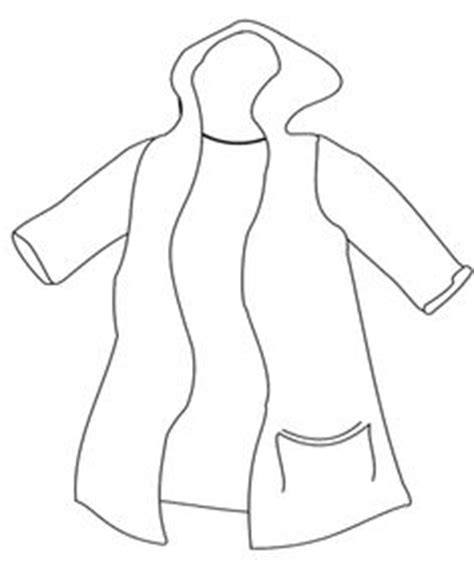 rain jacket coloring page 1000 images about winter coloring page on pinterest