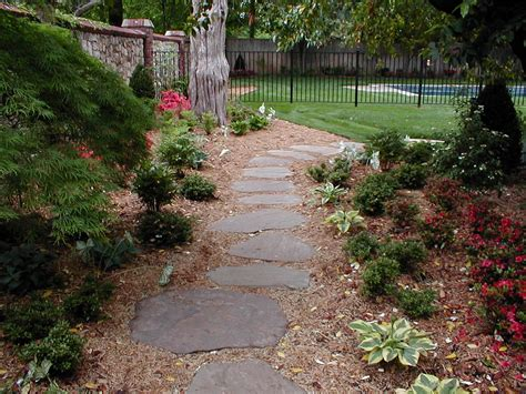 Hardscaping Ideas For Small Backyards Backyard Landscape Hardscape Ideas In Tulsa