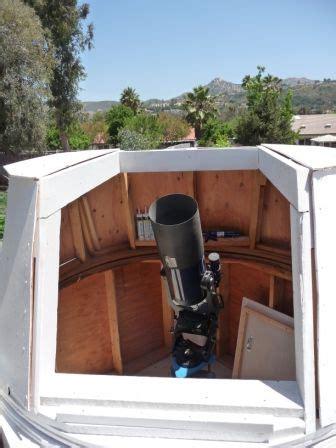 joe cahaks golf ball bearing turret observatory