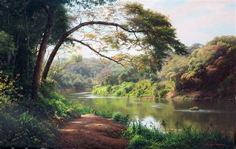Imagenes Paisajes Zen   im 225 genes arte pinturas paisajes zen hiper naturalistas de