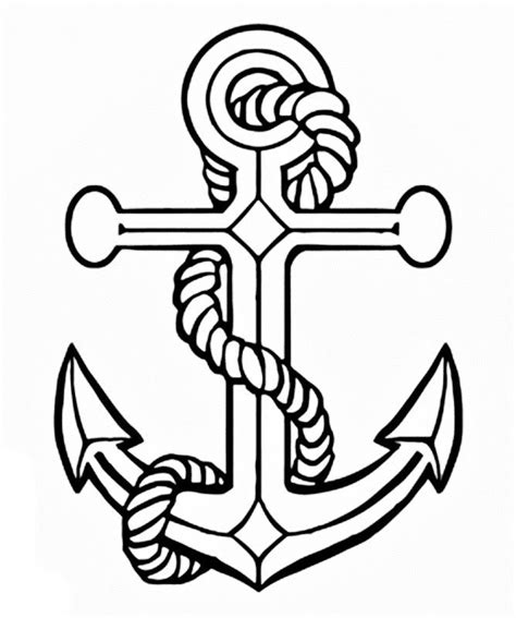 images of a anchor coloring pages coloring pages