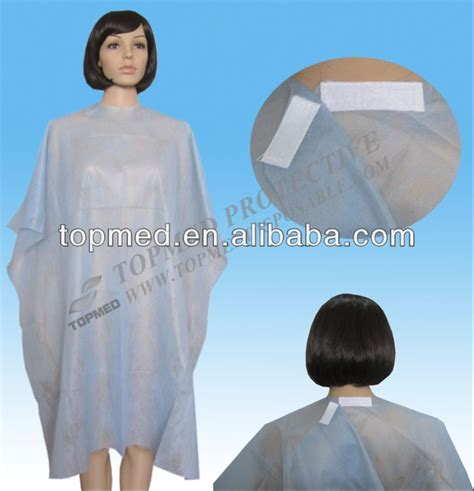 zippered hair cutting smock in can unwashable hair cutting smocks white cosmetology capes and