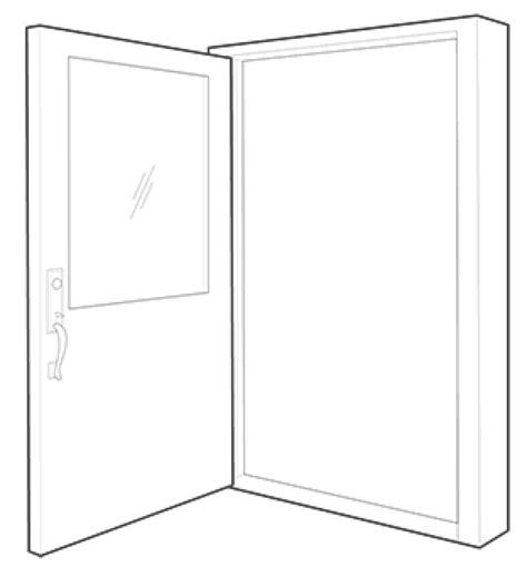 single swing door single swing doors northwest door sash