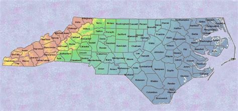 nc counties map nc counties map