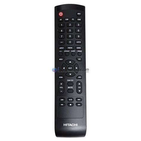 genuine hitachi  tv remote control