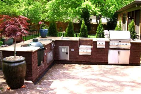ideas for outdoor kitchens outdoor kitchen ideas home home