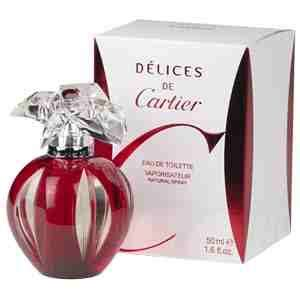 Parfum Delices De Cartier rising the perfume lounge big brands prices
