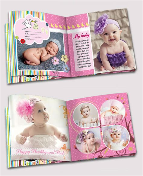 baby album templates psd album design design trends premium psd vector