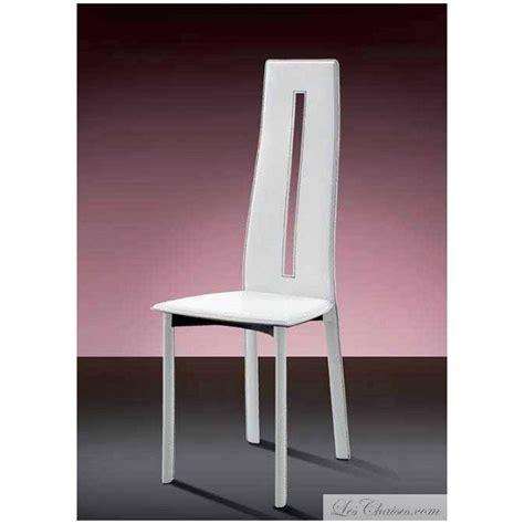 Ordinaire Chaise Salle A Manger Blanche #2: chaise-salle-a-manger-cuir-anny.jpg