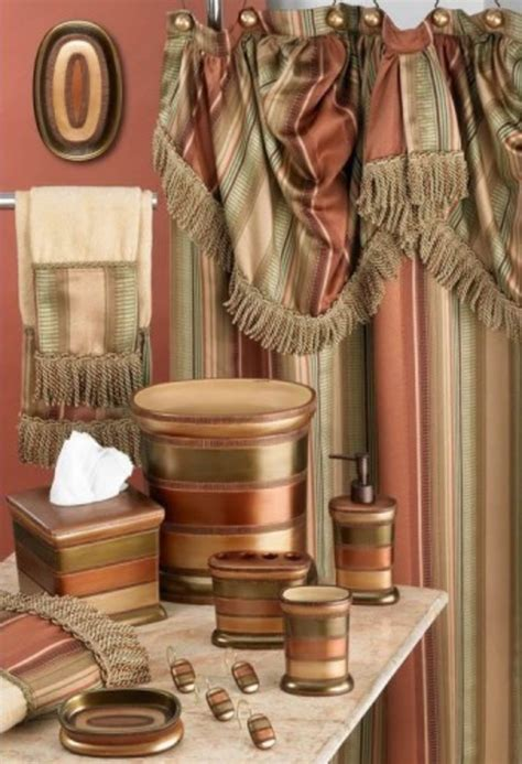 High End Valances Zen And The Of Choosing Luxury Shower Curtains
