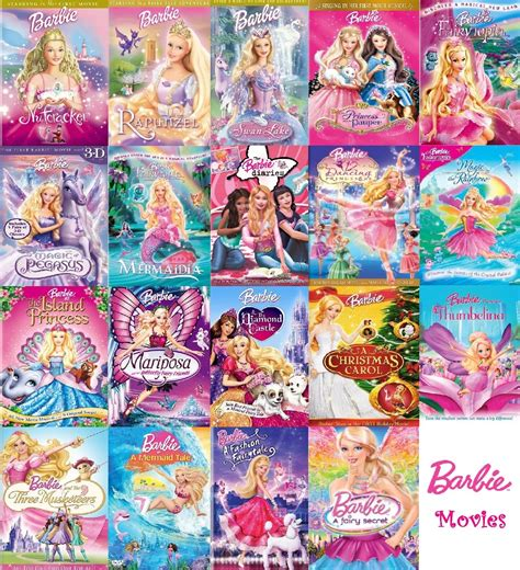 barbie film order barbie movies collection complete barbie movies