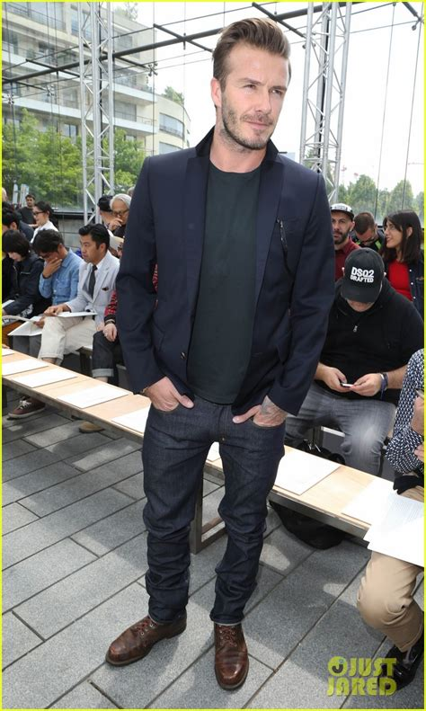 What Has Beckham Confused At Marc Show by David Beckham Louis Vuitton Show With Marc