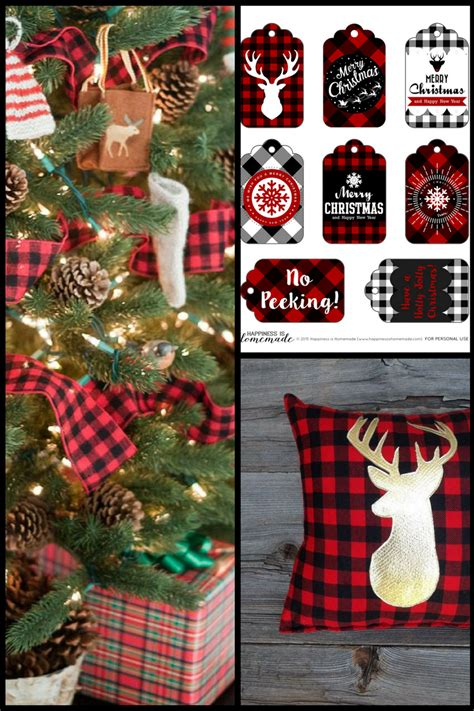 holiday inspiration buffalo plaid christmas decor the