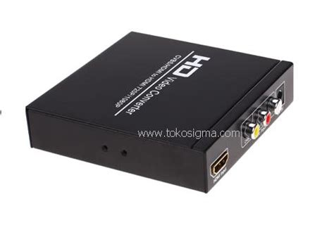 Harga Hdmi To Av 3 Rca Converter Box av 3rca or hdmi to hdmi converter box toko sigma