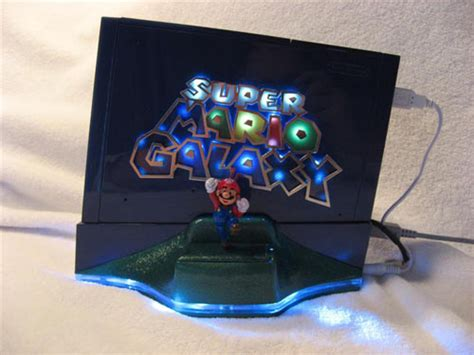wii console mods cool mods the mario galaxy wii mod being