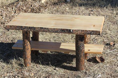 rustic log coffee table cabin lodge country log