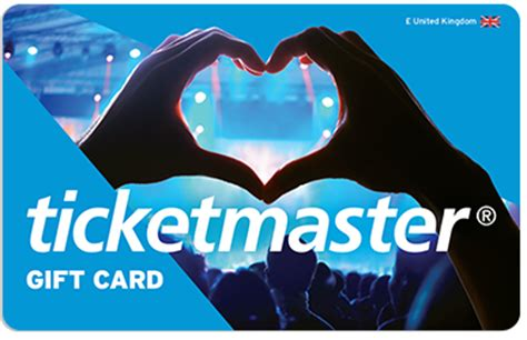 gift cards official ticketmaster site - Ticket Master Gift Card