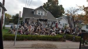 decorated houses brilliant halloween house decorations from america cool