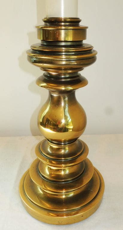 stiffel brass candlestick l brass candlestick stiffel table l for sale at 1stdibs
