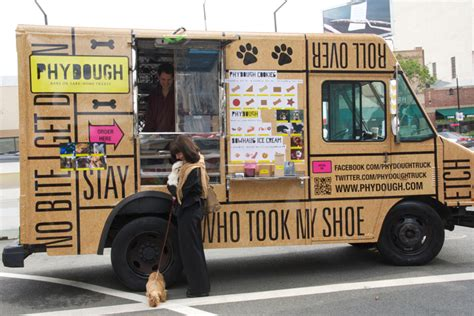 design your own mobile food truck doggies who lunch get their own stylish food truck