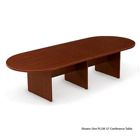 Racetrack Conference Table Office Source Pl138 Racetrack Conference Table