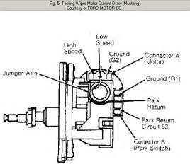 wiring diagram for a 1989 ford windshield wiper system