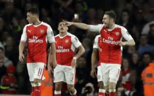 arsenal match today fa cup arsenal end lincoln s cup adventure with 5 0 romp