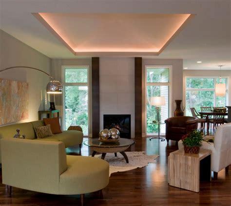 deckenbeleuchtung wohnzimmer 83 ideen f 252 r indirekte led deckenbeleuchtung lichteffekte