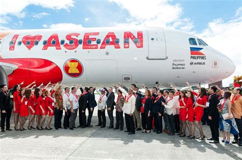 airasia support airasia launches quot air asia loves asean quot aircraft and
