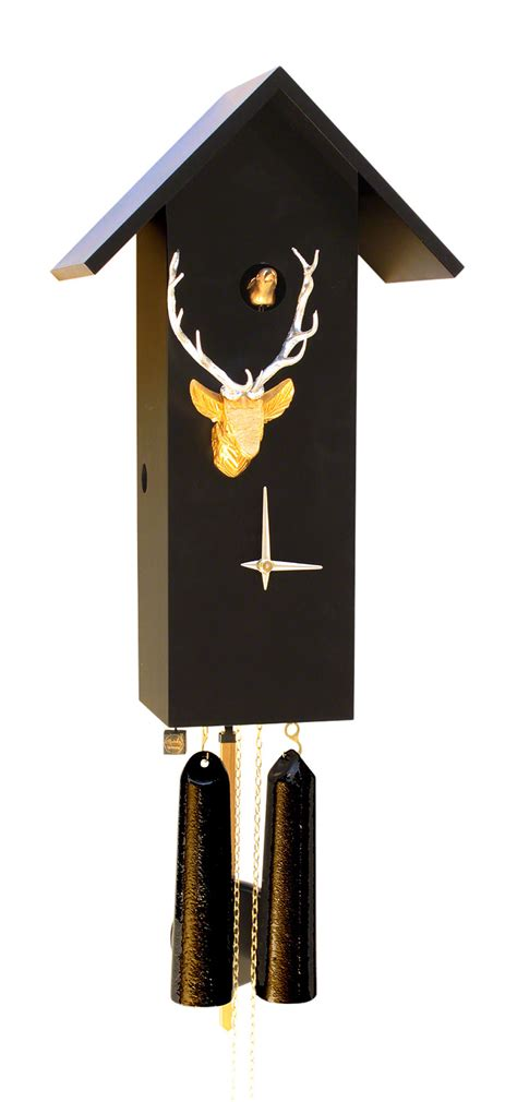 modern cuckoo clock cuckoo clock 8 day movement modern art style 44cm by