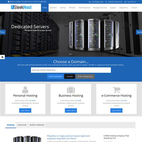 best html hosting templates themes themechilly
