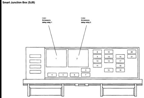 2005 ford freestar fuse diagram where can i find a fuse box diagram for a 2005 ford freestar
