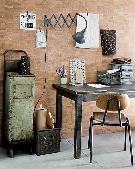 vtwonen koper woonkamer beplak je muur met kurkbehang vtwonen