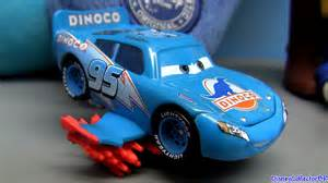 Lightning Mcqueen Blue Car Lightning Mcqueen Blue Dinoco From Disney Cars Pixar