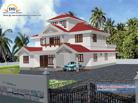 home elevation design app 4 beautiful home elevation designs in 3d kerala house