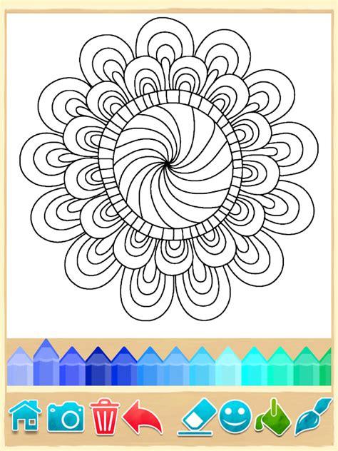 mandala coloring pages google play mandala coloring pages screenshot