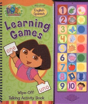 Learning Games Wipe Off Talking Book By Ann Spence