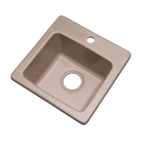 Mount Bar Sink by Mont Blanc Westminster Dual Mount Composite Granite 16 In