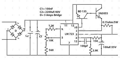 24v 5a power supply circuit diagram simple 0 30 volts 2 5a variable power supply circuit