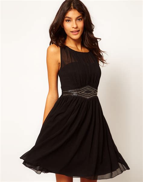 Dress Black and black bridesmaids dresses chic