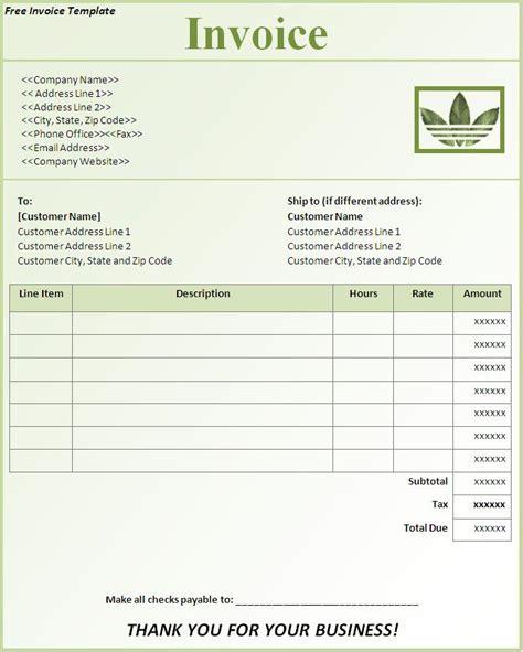 sales invoice template pdf | example good resume template, Invoice templates