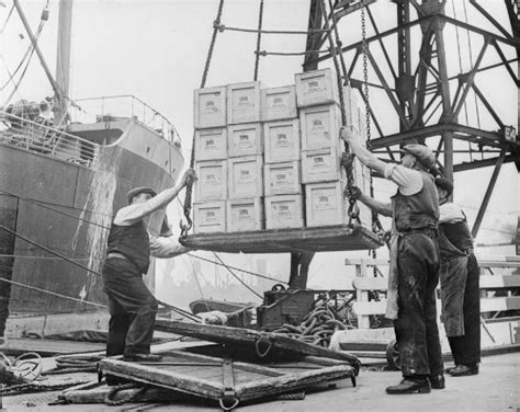 file britain delivers the goods in wartime dock workers