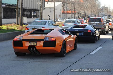 lamborghini murcielago new lamborghini murcielago spotted in manhattan new york on